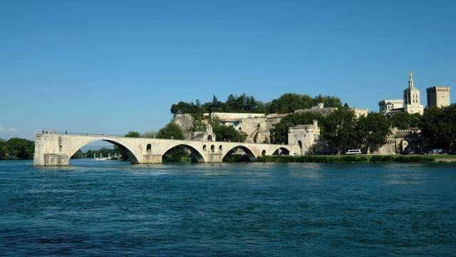 Vue d'Avignon.