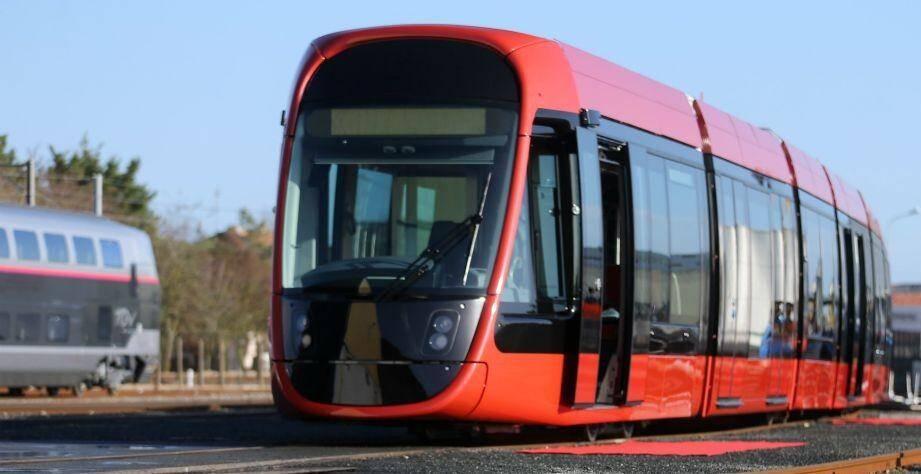 Image d'illustration d'un tram de la ligne 2.