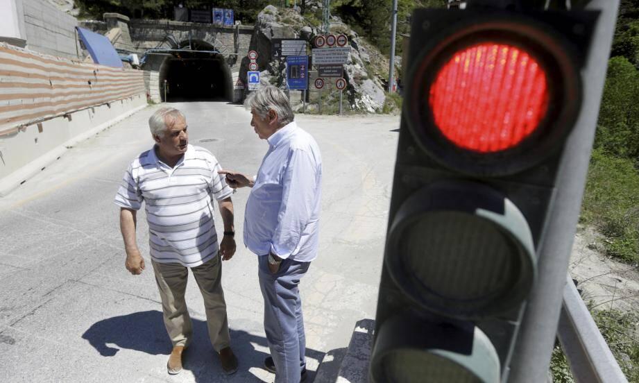 En mai dernier, le chantier de doublement du tunnel de Tende avait été mis à l'arrêt, après la mise au jour d'une affaire de vol.