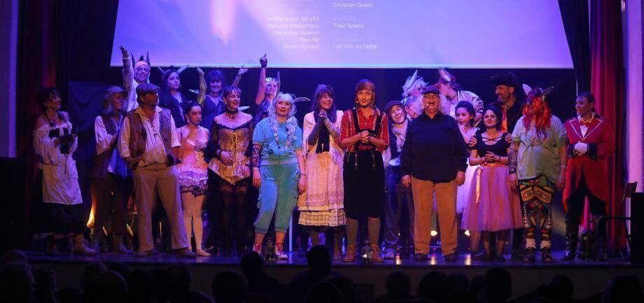 Deux représentations ont été nécessaires, une nouvelle fois, pour accueillir tous les spectateurs transportés par «Pinocchio, la comédie musicale» conduite par Nadine Spano, ses élèves et l'équipe de Lez'arts en herbe.