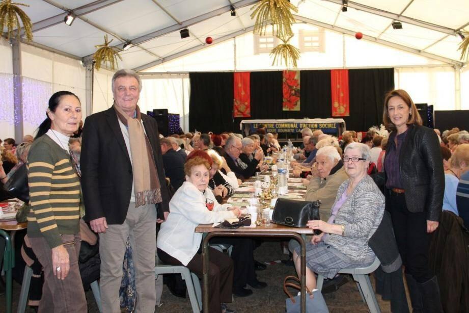 Organisé par la Ville et le CCAS, le loto du nouvel an a fait le plein sous le chapiteau.