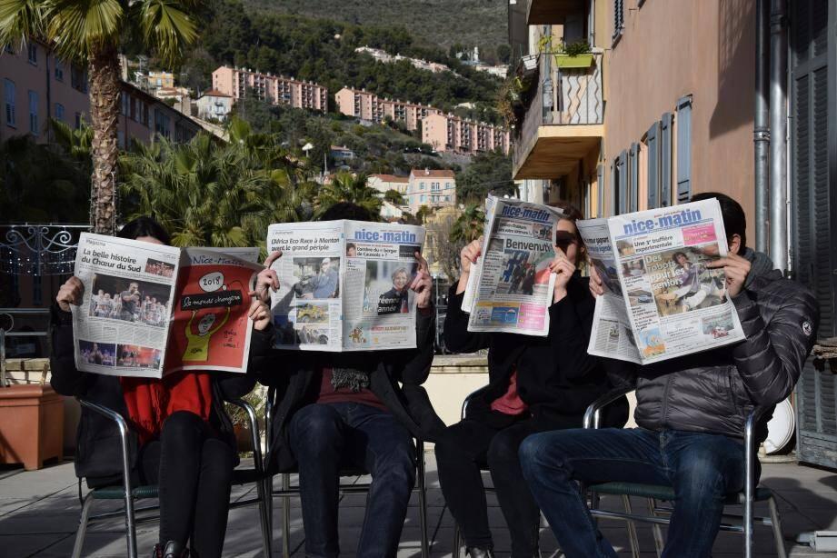 À vos journaux pour réviser l'année !