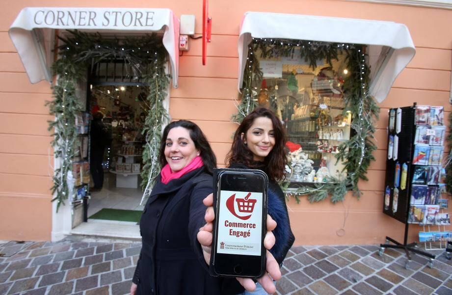 La boutique Corner Store, sur le Rocher, a adhéré au label. « C'est une discipline naturelle pour nous», avoue la responsable du magasin, Gaëlle Corlay.