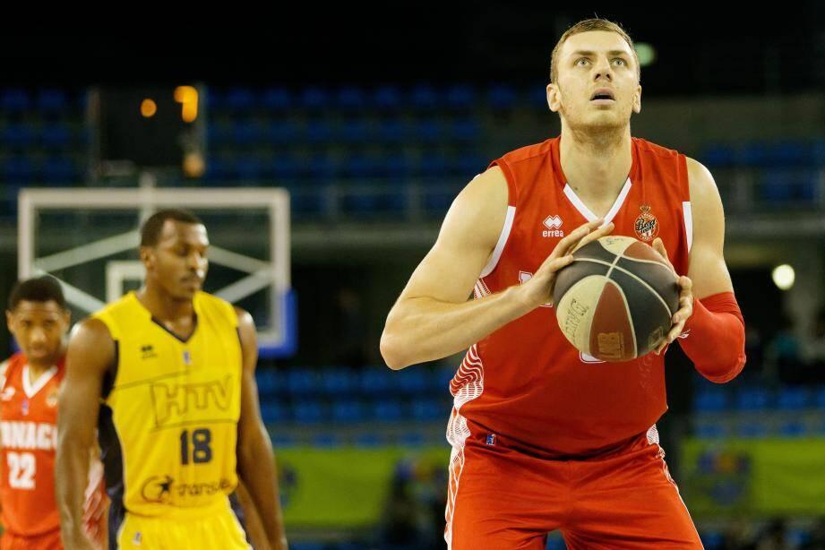 Kikanovic (15 pts à 62% et 5,7 rebonds en BCL) retrouve la salle de Krasnoyarsk.(D.L.)