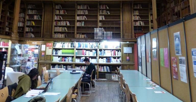 La bibliothèque centrale de Toulon.
