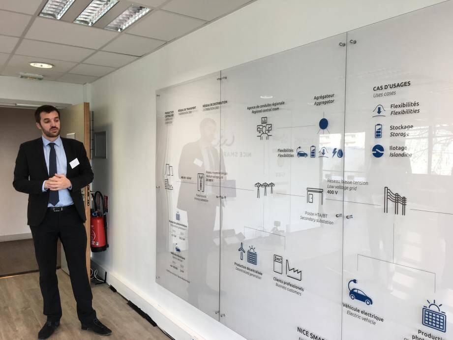Inauguré fin décembre, le showroom de Nice Smart Valley utilise la réalité virtuelle et augmentée pour faire comprendre les smart grids aux visiteurs.