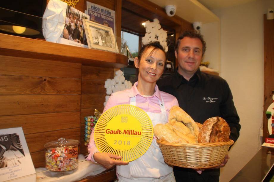 Cathy et Christophe Boutès ont été récompensés par un macaron Gault & Millau.(DR)