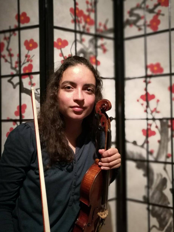 Marie-Noëlle Richard, violoniste.(DR)