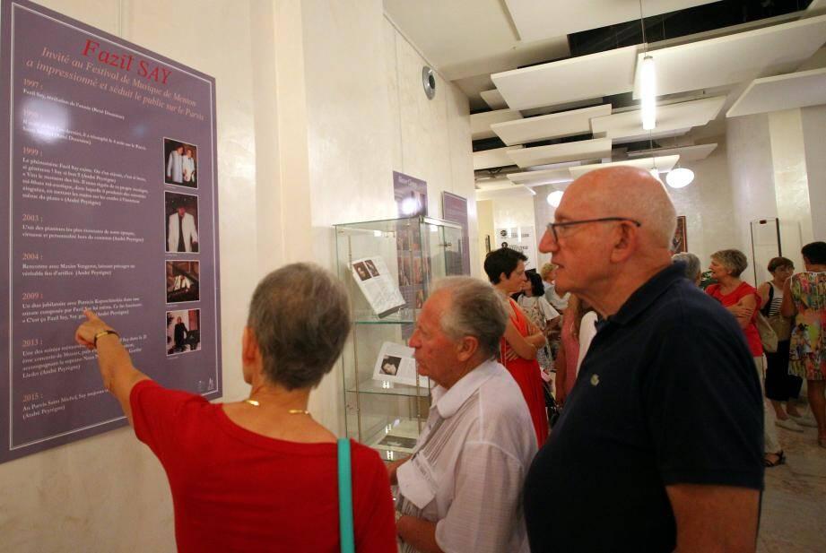 Entre expositions, séance de cinéma... et Nuit de la lecture, il se passe toujours quelque chose à la bibliothèque municipale de Menton.(Archive photo Jean-François Ottonello)