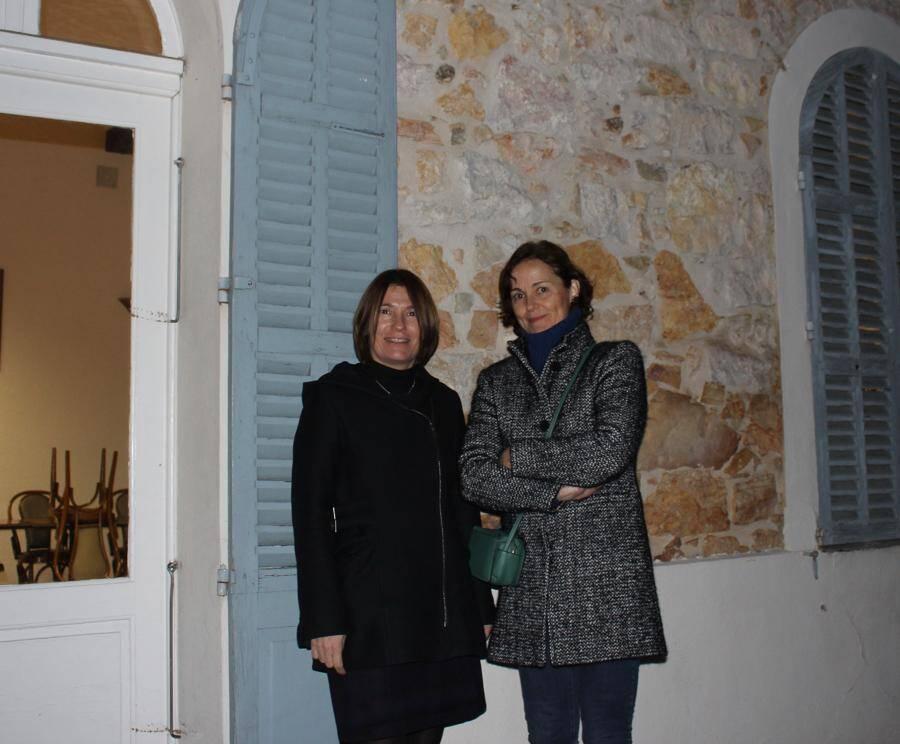 Bénédicte Girault et Emmanuelle Bernard.