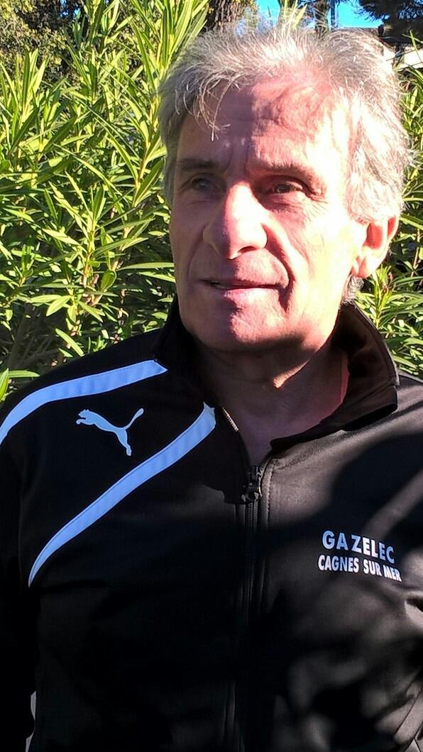 Philippe Ropa est le président des sections football et cyclisme du Gazélec Sports de Cagnes-sur-Mer.(DR)