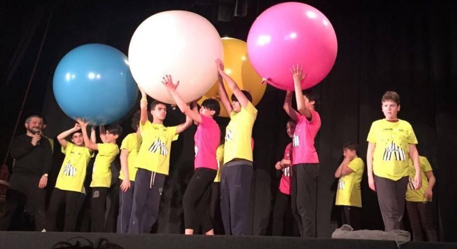 Un spectacle de cirque donné par de jeunes autistes. (DR)