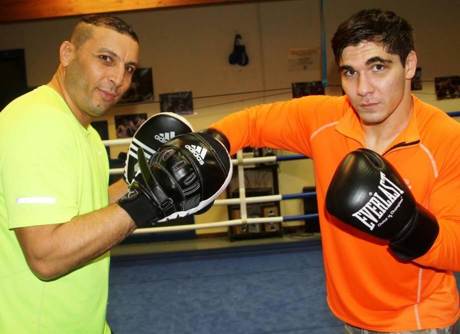 Radouane Ferchichi et Zurab Gulaev.