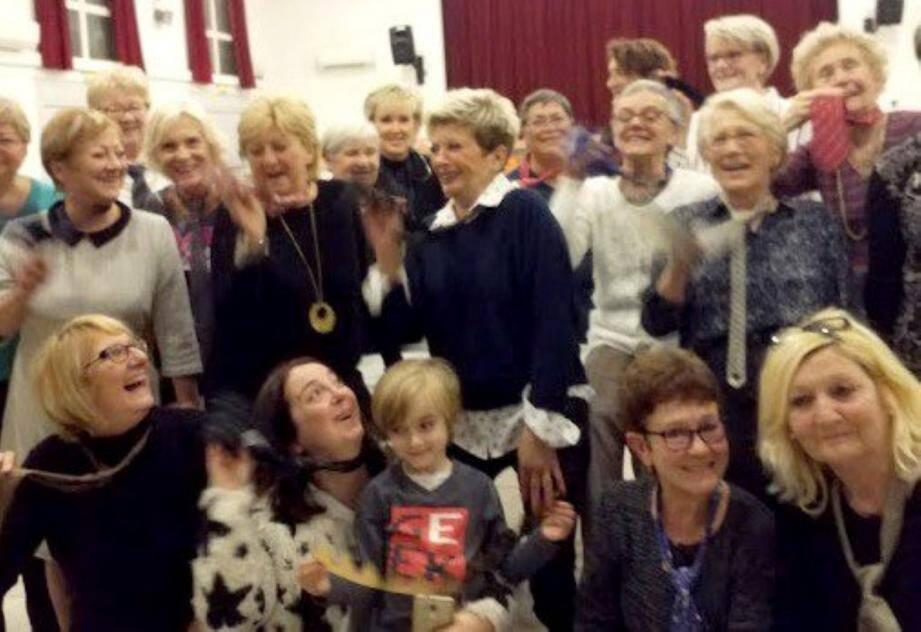 Les femmes et les enfants bénévoles d'abord ont été mis à l'honneur pour ce début d'année.