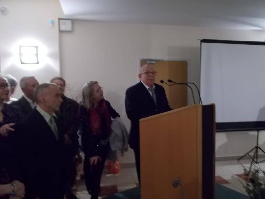 Le maire a évoqué une année d'exercice. Selon lui, la gestion communale devient de plus en plus floue.