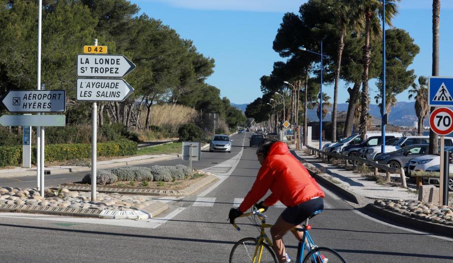 Parmi les grands travaux de la Ville figure l'aménagement du boulevard de la Marine.