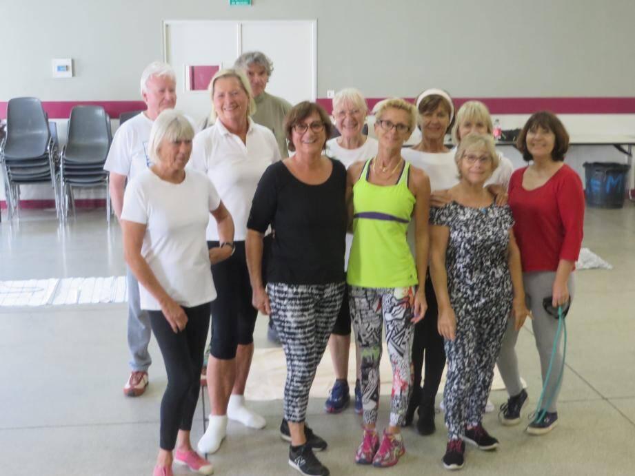 Les cours de fitness ont lieu à la salle des fêtes, les lundis et jeudis.