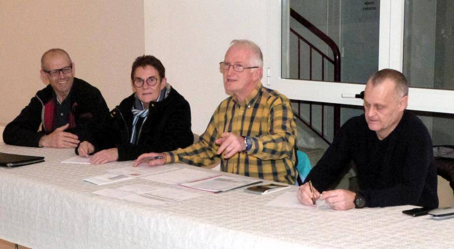 Le président des Sports de combat et arts martiaux beaussetan (Scamb) Grégoire Trelcat a orchestré l'assemblée générale, salle Bastid, la semaine passée.