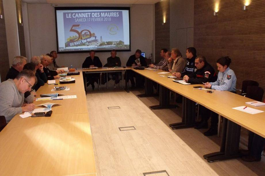 Organisation, sécurité, intendance autant de sujets à l'ordre du jour de la réunion préparatoire à la grande fête du cyclisme.