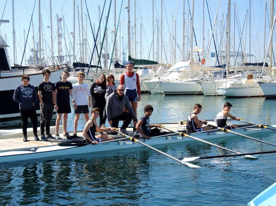 L'aviron, un des sports proposés pour les prochaines vacances.