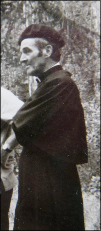 L'abbé Bruno figure emblématique du village. (Ph DR)