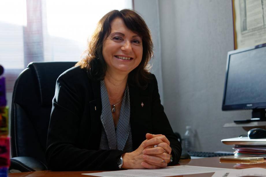 Dans l'adversité, Blandine Monier conserve sourire et détermination.