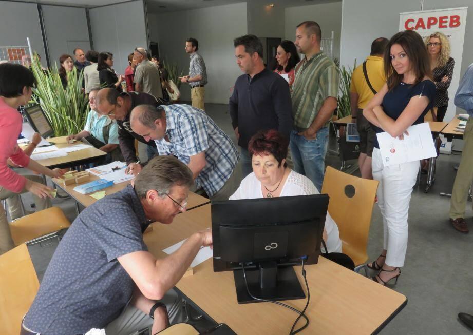 Lors du 1er Forum de la commande publique, en mai 2015.