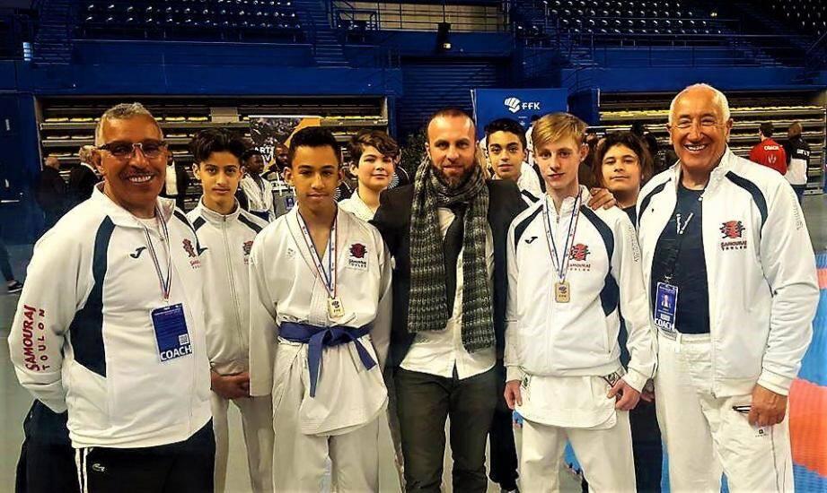 Les jeunes Toulonnais ont fait honneur à leur club.