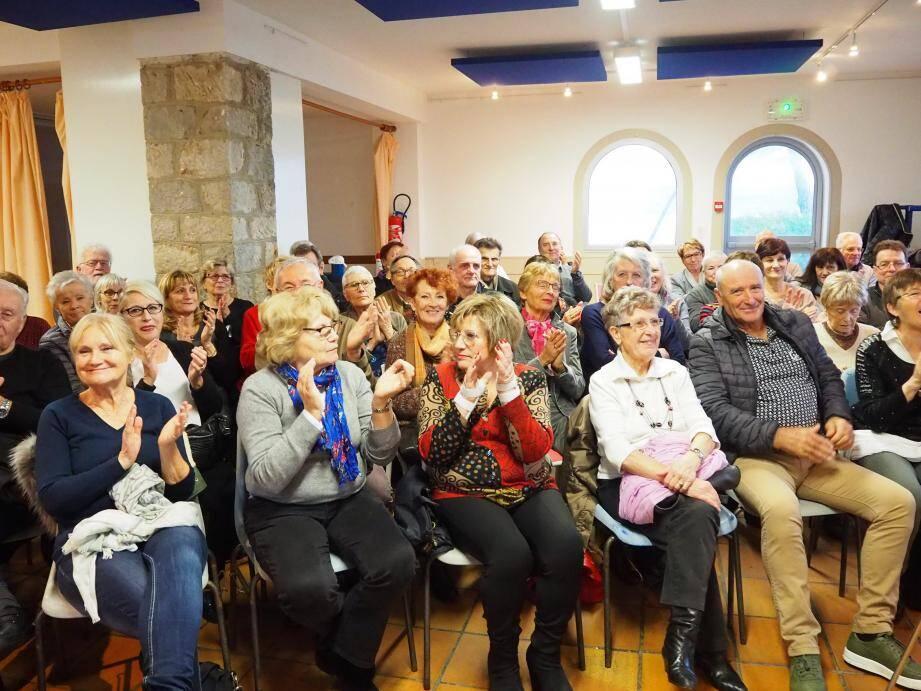La salle de la maison du patrimoine a accueilli bon nombre d'adhérents de l'association.
