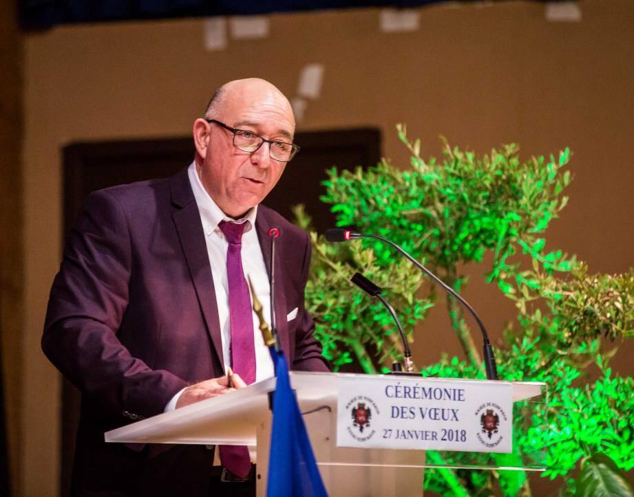 Thierry Bongiorno a évoqué les projets de l'année à venir. Le village devrait connaître plusieurs transformations.