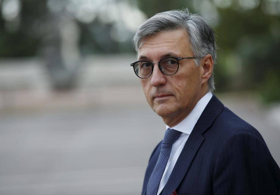 Jean-Louis Grinda, tête de liste Union Monégasque.