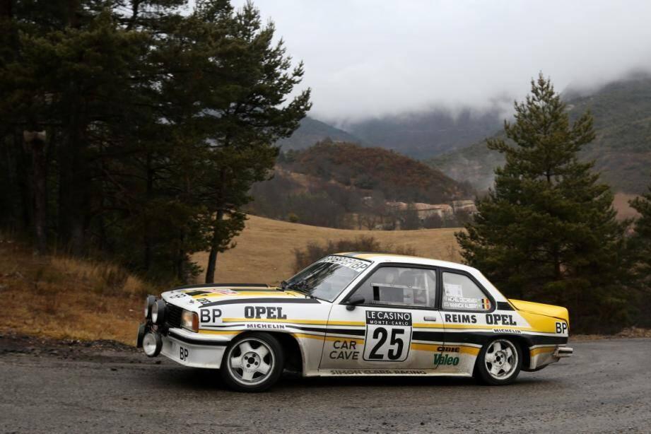 Au volant de son Opel Ascona 2000, le vainqueur de 2017, Michel Decremer remettra son titre en jeu.