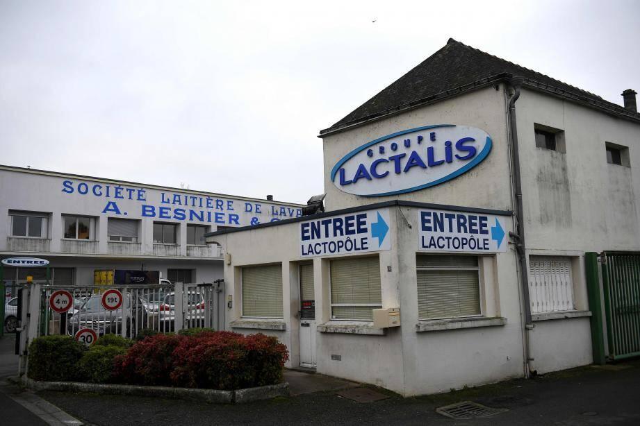Le siège social de Lactalis à Laval.