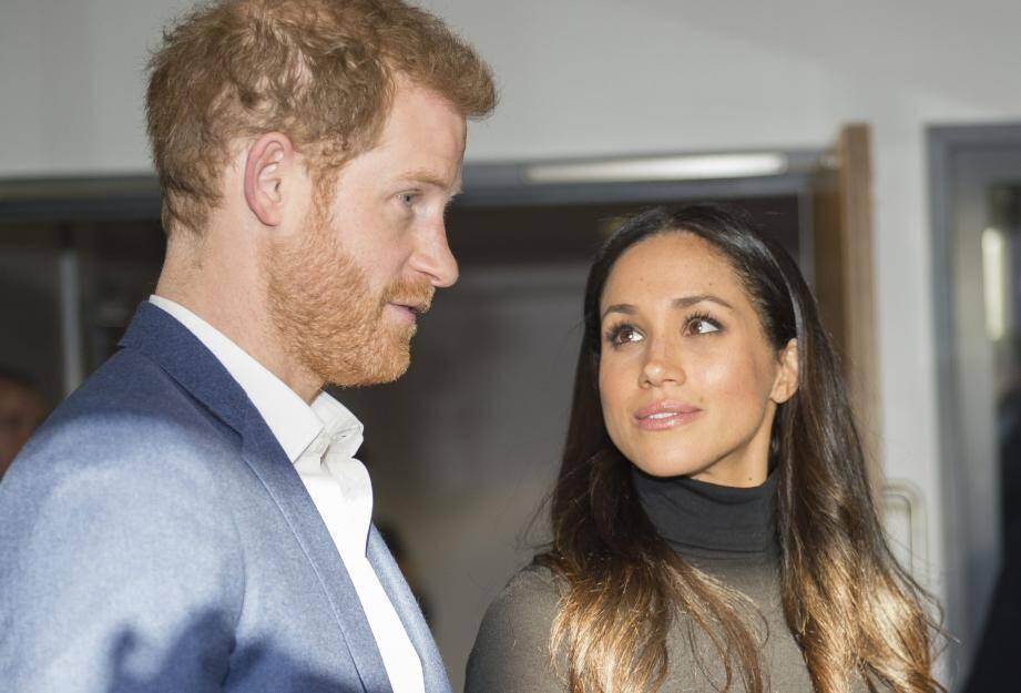 Le prince Harry et Meghan Markle le 1er décembre 2017.