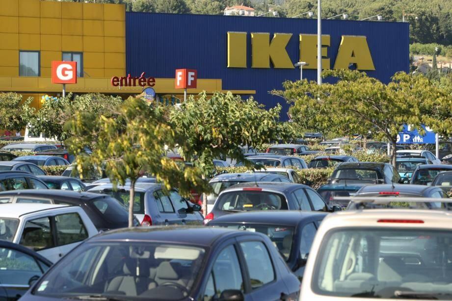 Le magasin Ikea de La Valette-du-Var.