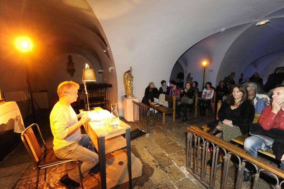 L'an passé, un des lectures nocturnes s'était déroulée dans la cathédrale de Grasse.