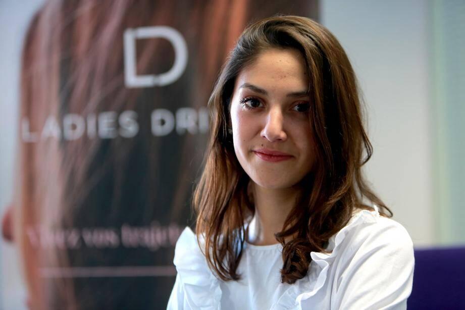 Laura Guido, 23 ans, étudiante-entrepreneur, a créé la start-up