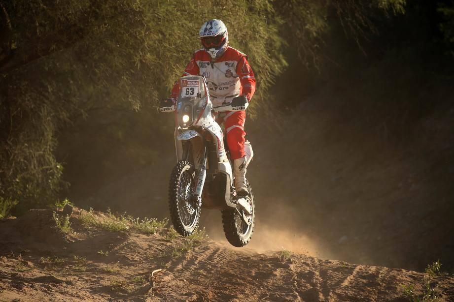 Adrien Maré s'éclate en Amérique du Sud au guidon de sa moto.