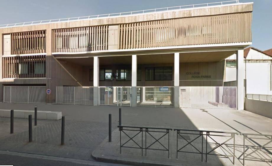 Le collège Rosa Parks, à Marseille