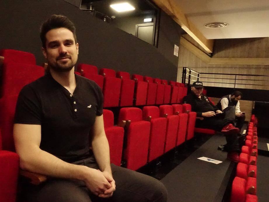 Bastien Vergoni, président du Festival Play Azur
