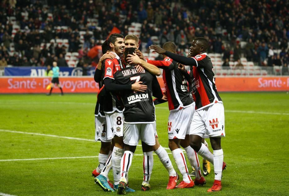 Victoire de Nice face à Amiens.