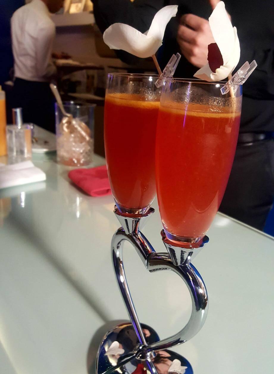 Voici le cocktail idéal pour la Saint-Valentin.