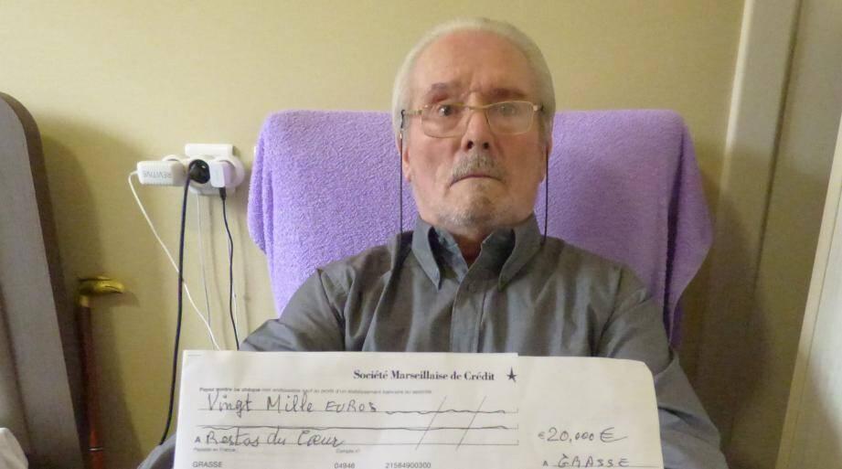Pierre Botalla, un généreux donateur.