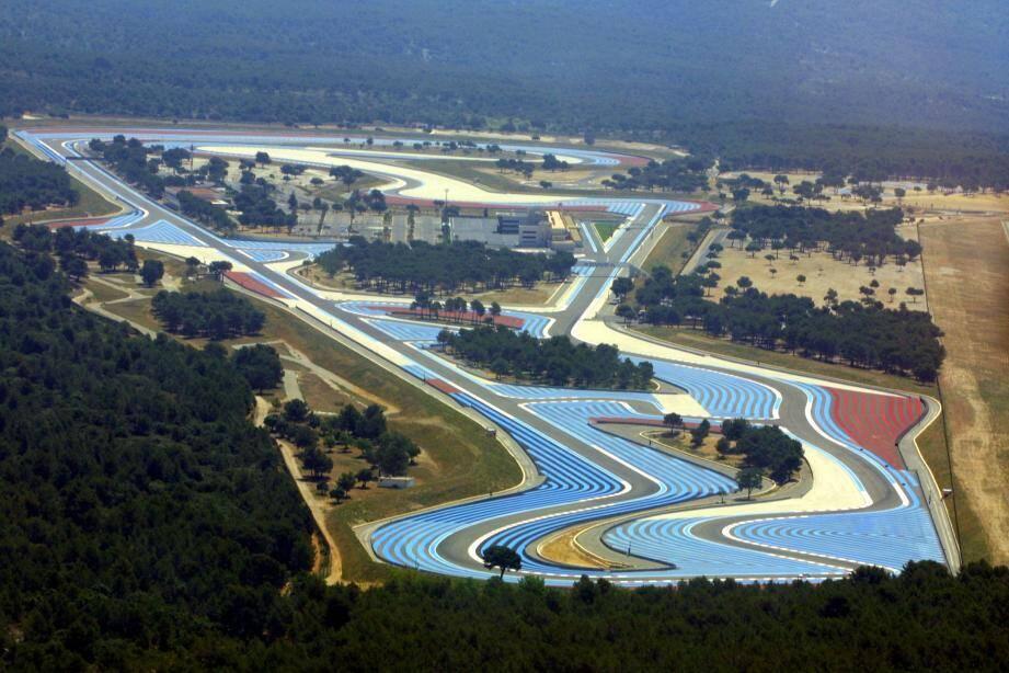 Le circuit du Castellet.
