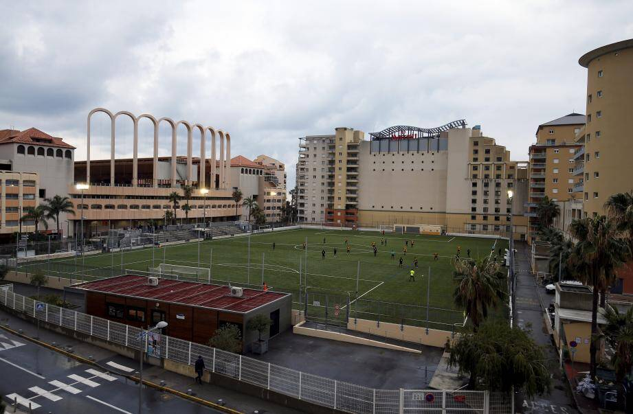 Le stade Marquet au Cap d'Ail.