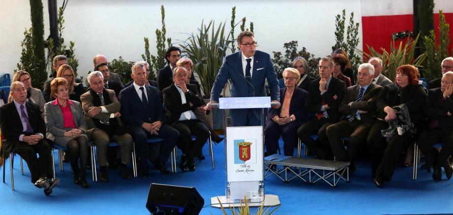 Vincent Morisse, également président de la Communauté de communes a beaucoup philosophé sur le rôle de cette intercommunalité.