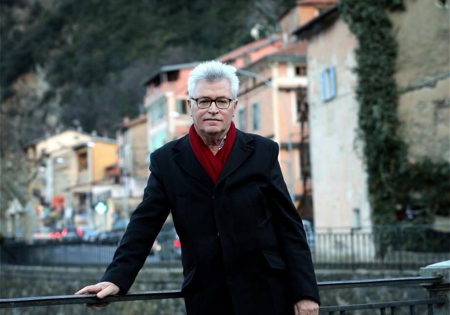 André Ipert, maire de Breil sur Roya