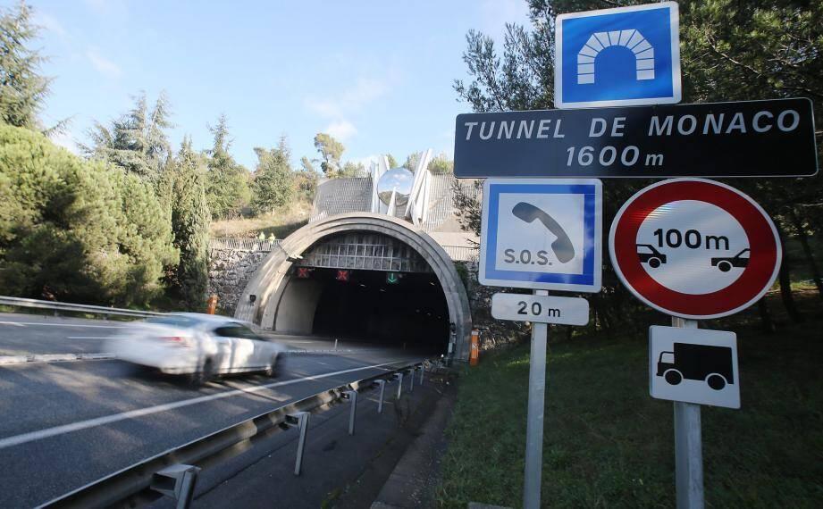 Image d'illustration du tunnel de Monaco.