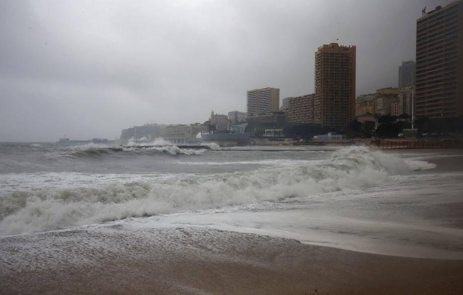 Comme ici le 11 décembre dernier, vent et  forte pluie sont attendus ce lundi après-midi à Monaco.