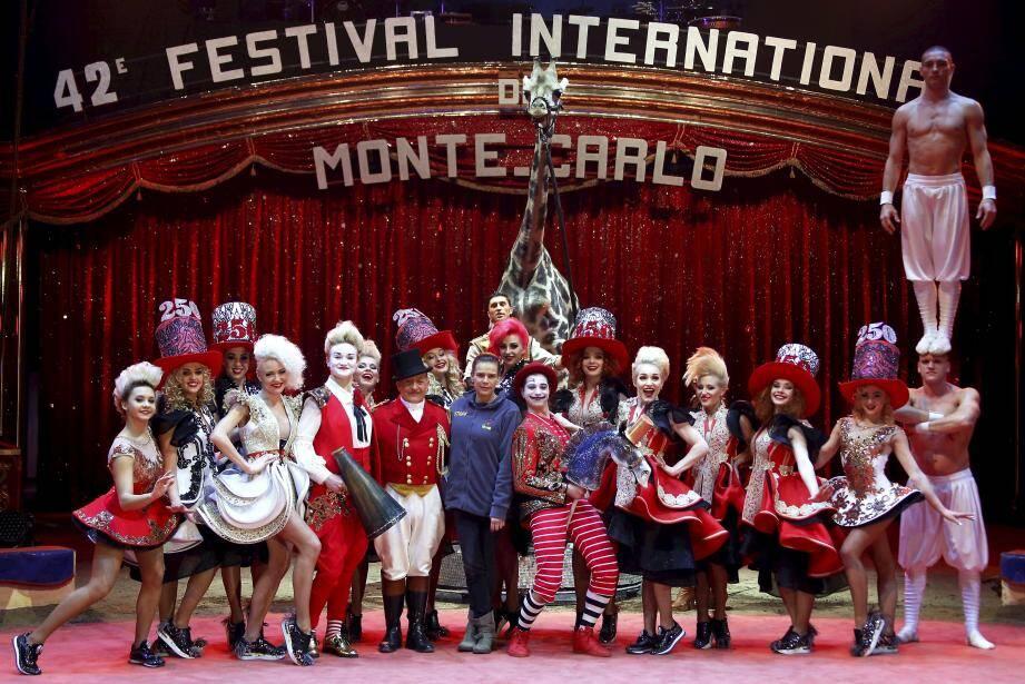 Le 42e festival international du cirque de Monte-Carlo débute ce jeudi.